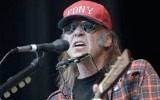 """Neil Young, autor de """"Rockin' in the Free World""""."""