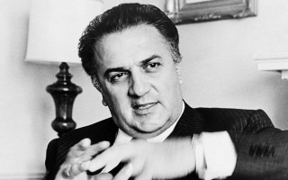 Federico Fellini. Foto: Walter Albertin, World Telegram staff photographer – Library of Congress. New York World-Telegram & Sun Collection.