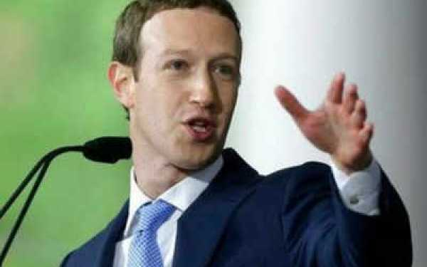 Mark Zuckerberg, fundador de la red social Facebook.