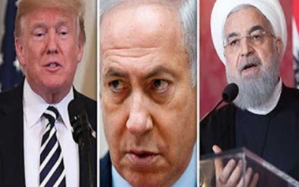 "Foto del artículo ""US-Iran tensions: Israel 'SHOCKED' by Trump's offer to meet Iran leader Rouhani"" (Express, Reino Unido, edición del 2/08/018**"